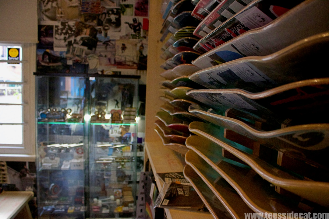 Inside  Legacy Skate Shop  in Darlington