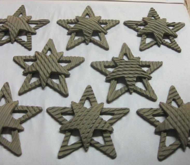Sample ornaments, artist unknown.