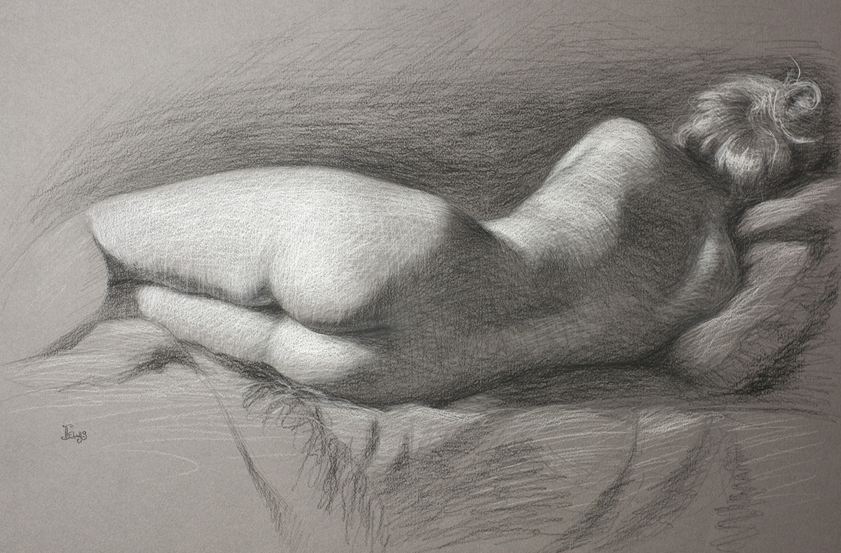 Figure Drawing Class w/Lacey Lewis — InterUrban ArtHouse