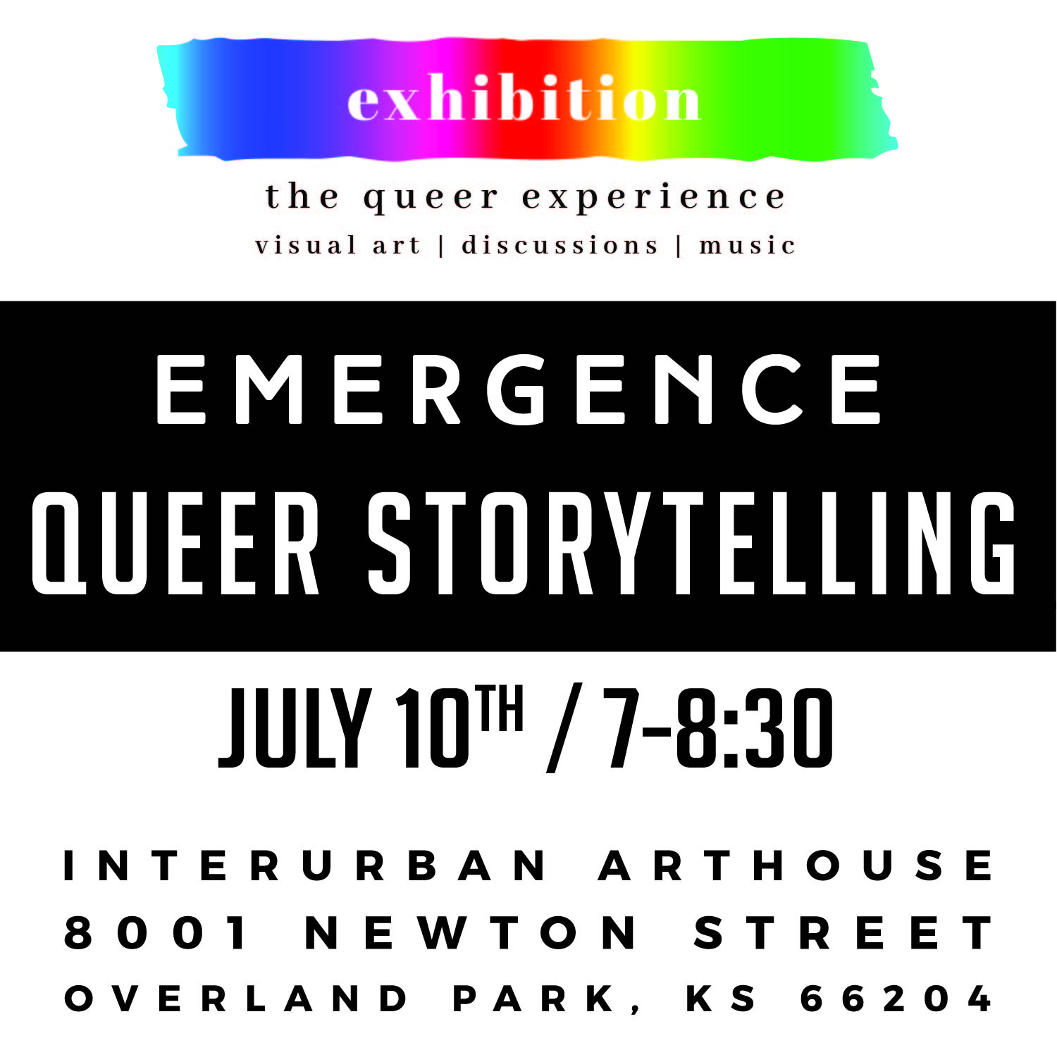 Emergence Queer Storytelling Night