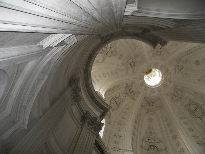 """Sant'Ivo alla Sapienza 2, Rome, 13"""" x 17"""", 2009"""