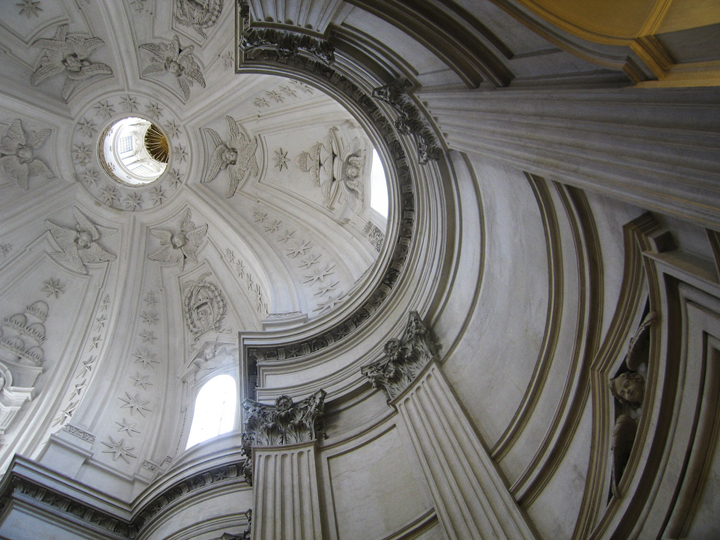 """Sant'Ivo alla Sapienza 3, Rome, 13"""" x 17"""", 2009"""