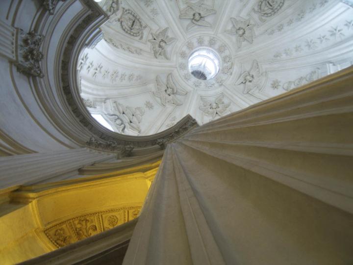 """Sant'Ivo alla Sapienza 5, Rome, 13"""" x 17"""", 2009"""