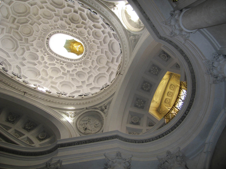 """S. Carlo alle Quattro Fontane, Rome, 13"""" x 17"""", 2009"""