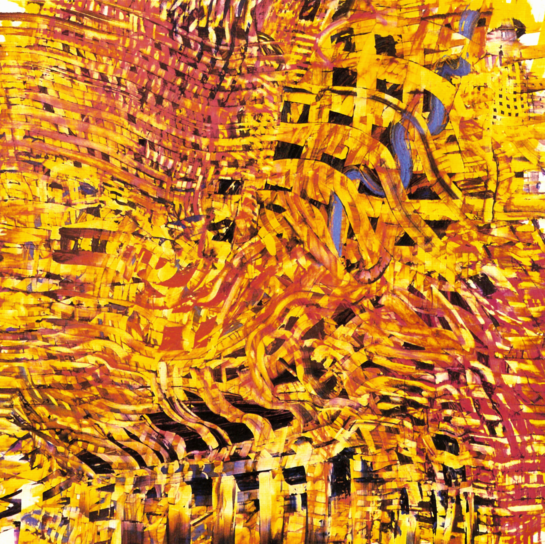 "Phoenix, oil on wood, 48"" x 48"", 2003"