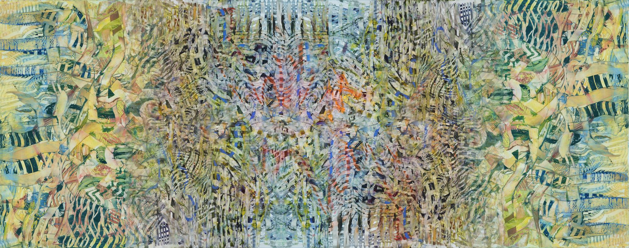 """Il Barone Rampante Series #4, archival pigment print, 15 3/8"""" x 39"""", 2013"""