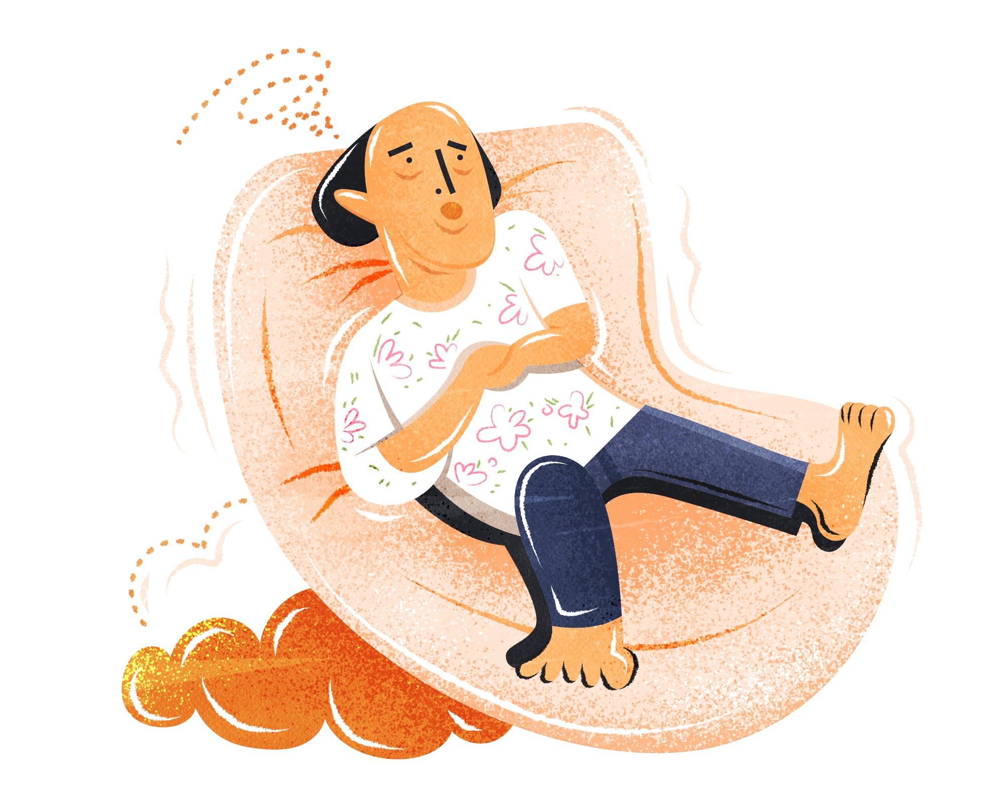 累感不爱 adj. - Being too tired to feel like doing anything.e.g. After one-week of working over time, I really feel 累感不爱.