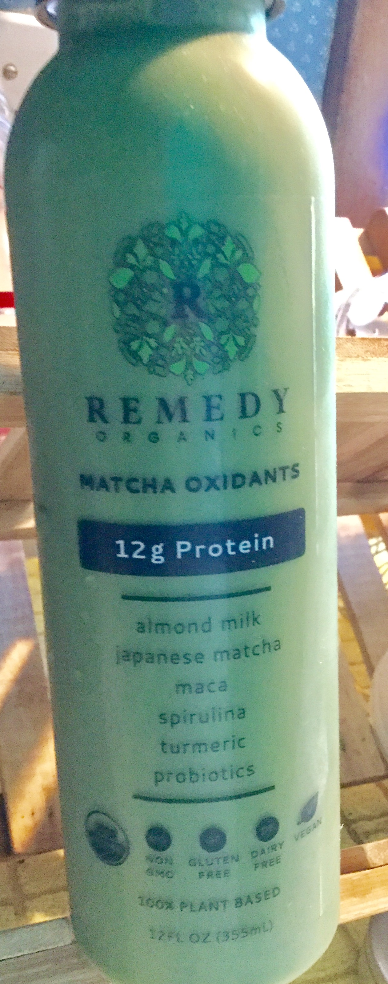 Plant based RTD beverage found in the Organic Section of Wegman's