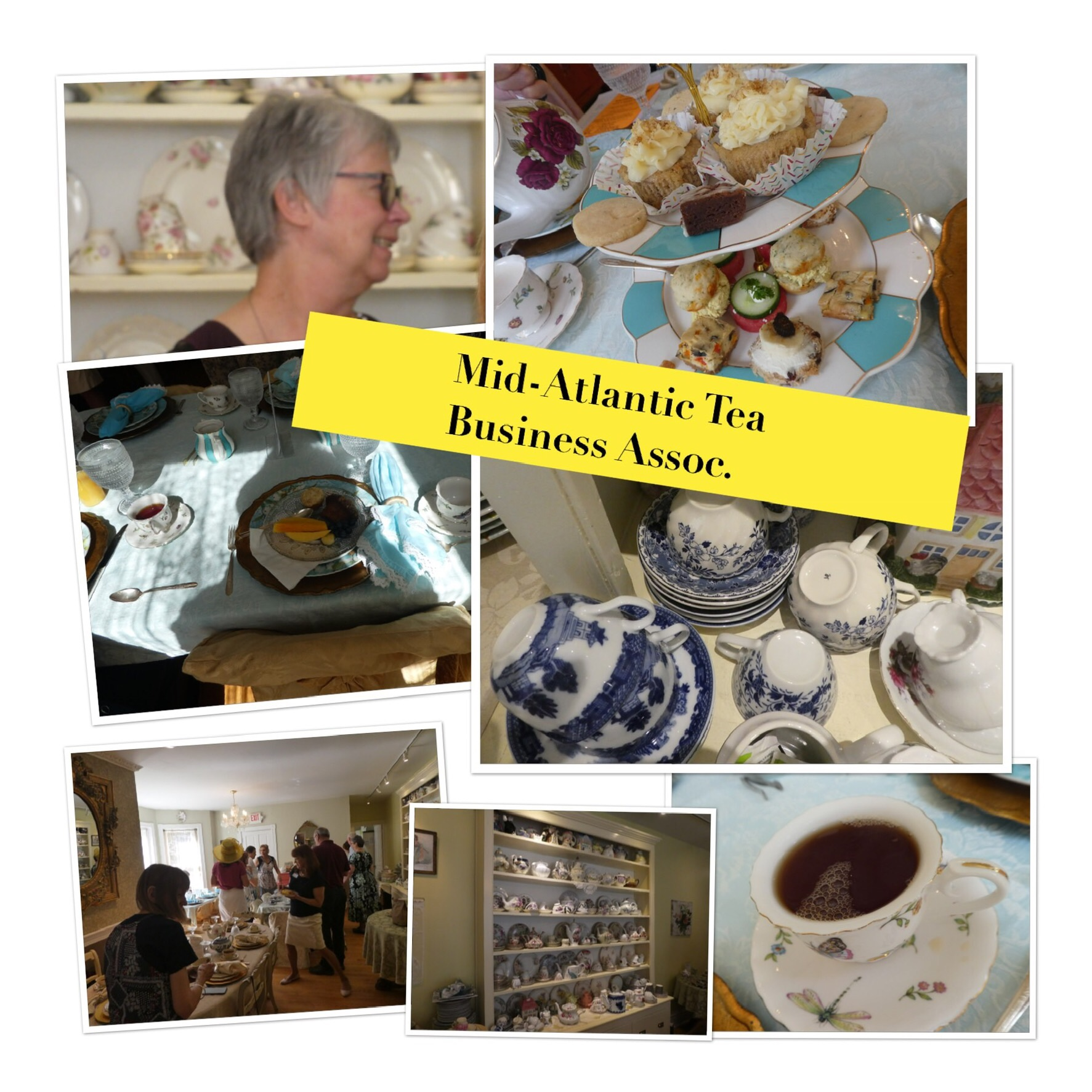 Gathers of the Mid Atlantic Tea Business Association
