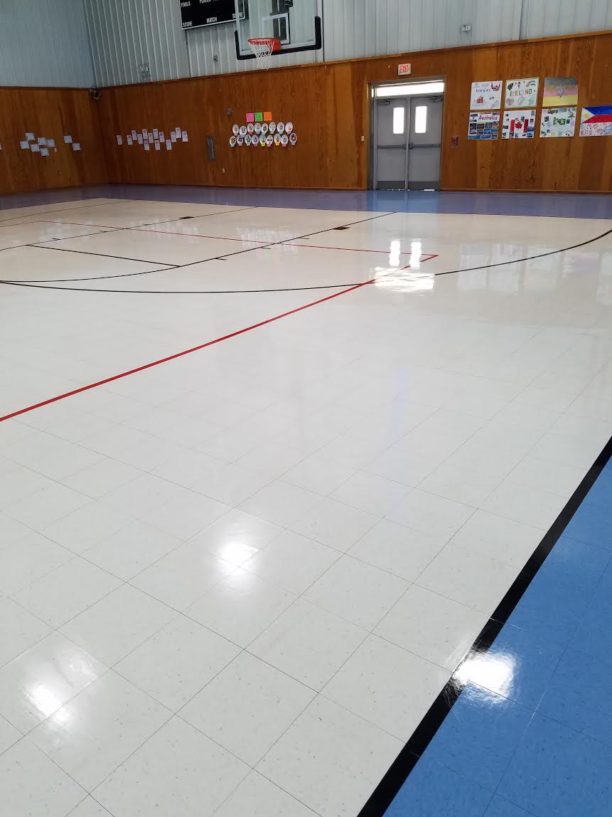 Copy of Gym Floor Cleaning