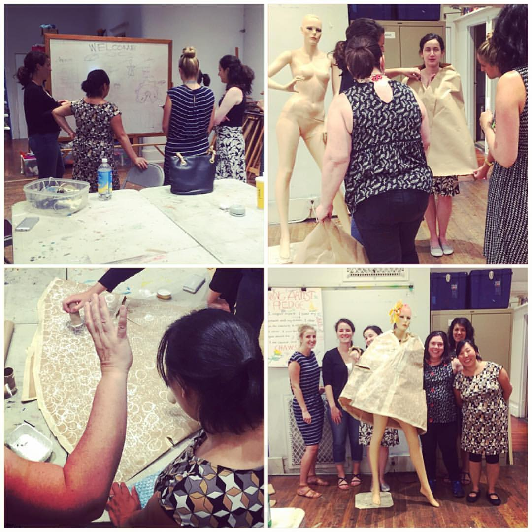 Phillips Collection Team Building Workshop at Capitol Hill Arts Workshop 2016