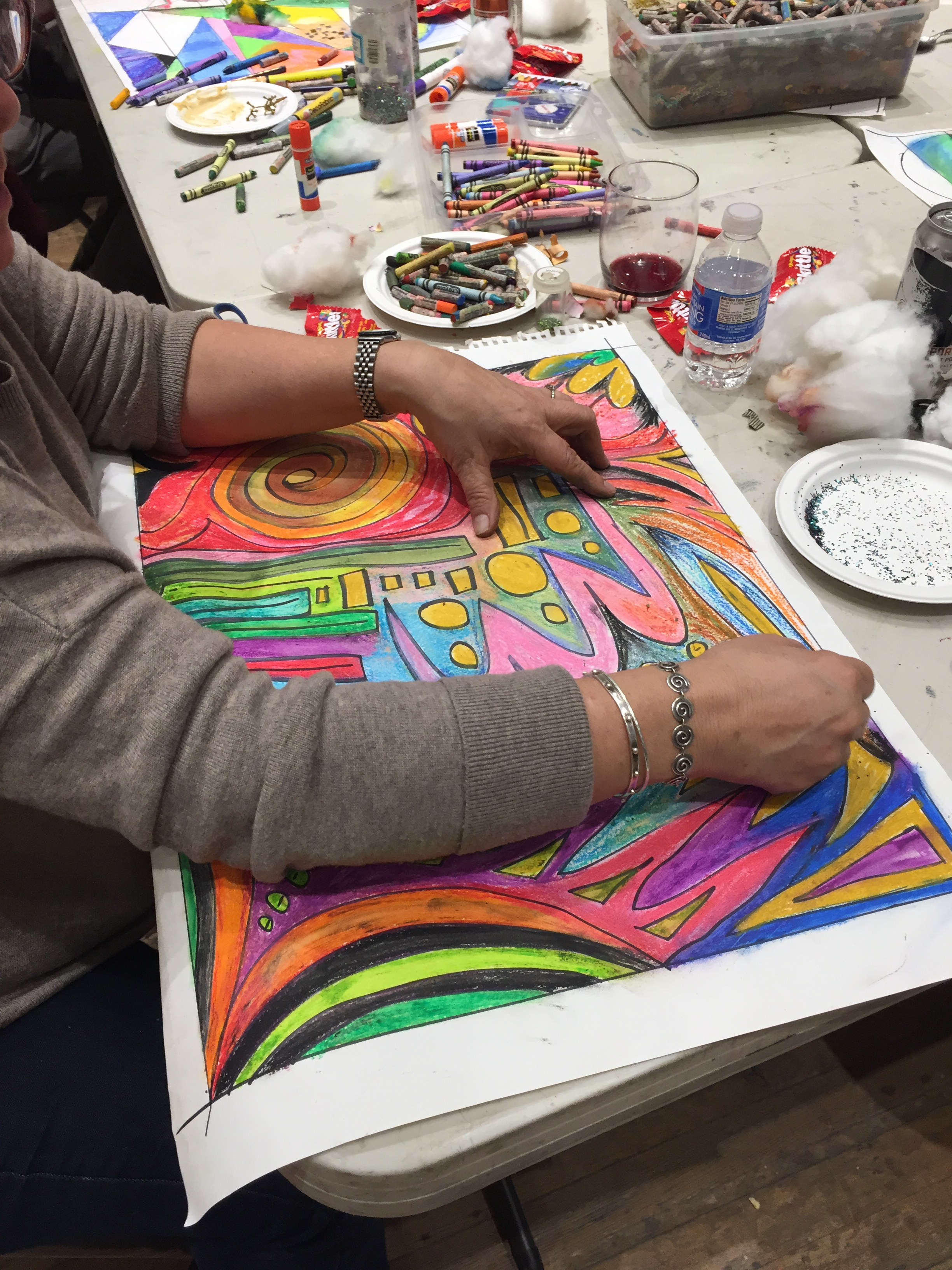 Super-Sized Adult Coloring & Craft Beer at CHAW 2016