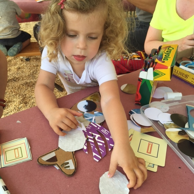 Kids Crafts in NoMa, DC 2015