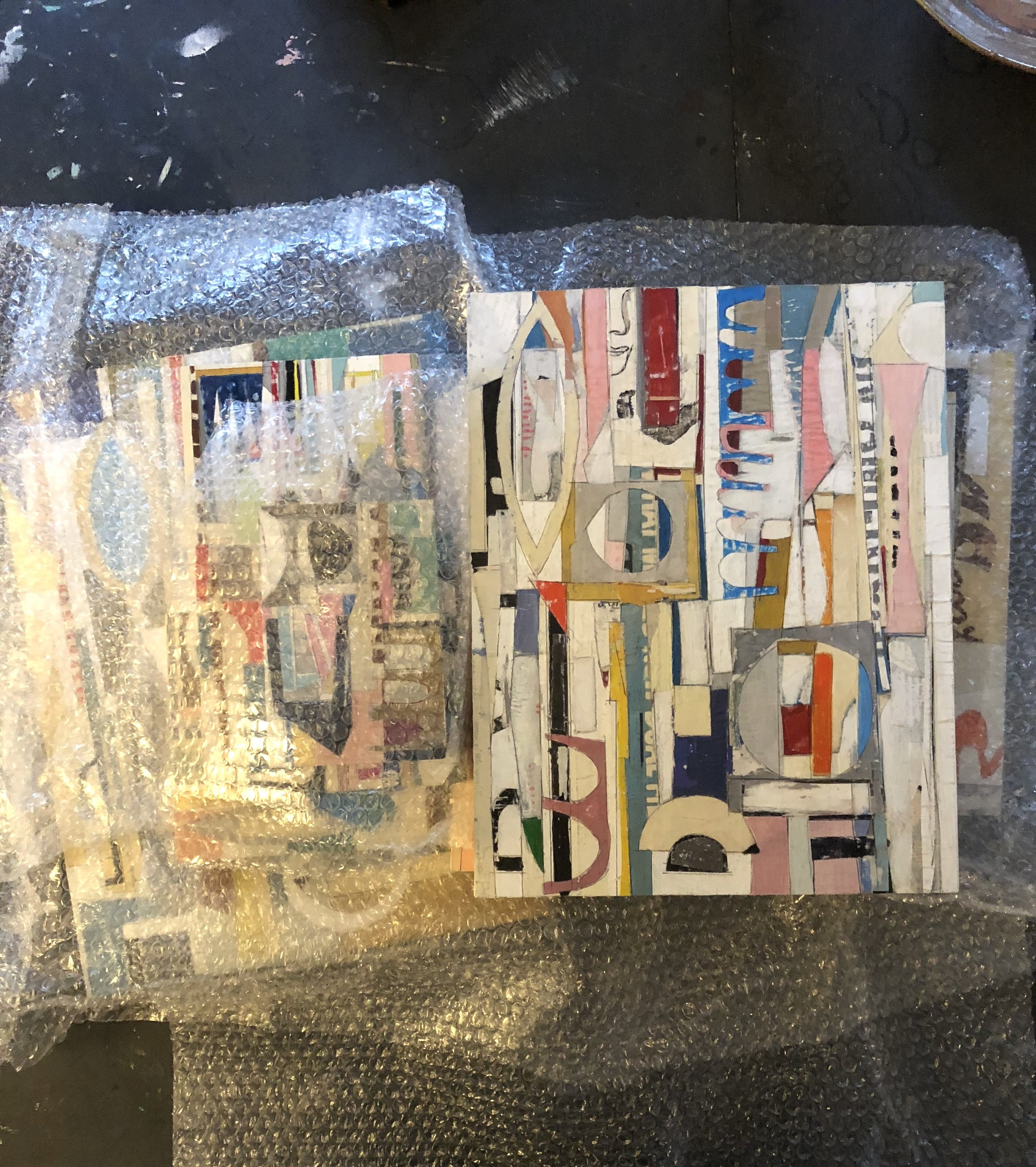 * Update: most of these pieces have sold. Inquire at the Phillips Collection Museum Store.  New pieces at the Phillips Collection Museum Store in Washington DC, Nov 2018. Various sizes & prices.