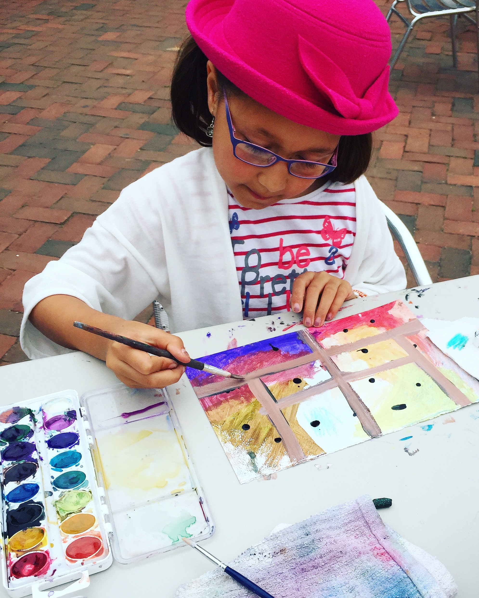 Afternoon Art Class on Capitol Hill for Eastern Market Main Street 2017