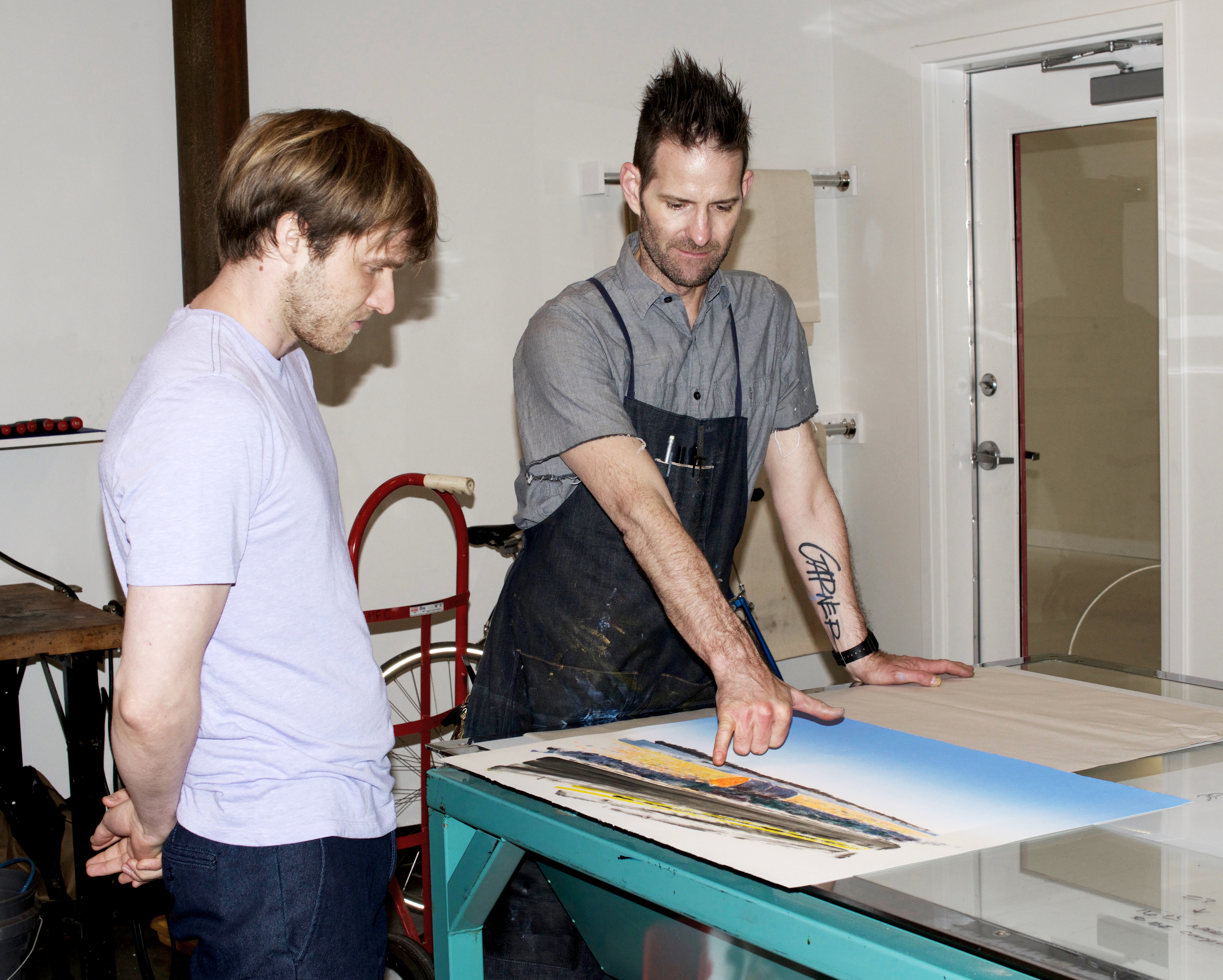 Damian and Brian discuss monotype color.