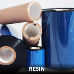 RESIN RIBBONS  DNP's full line of resin ribbons offers extreme durability against harsh solvents and aggressive abrasion, so you can confidently chose the right ribbon for the right application.  As with DNP's wax ribbons, their resin ribbons are also for mulated with DNP's exclusive backcoat technology and come standard with special anti-static properties for easy handling and superior print protection.    Applications:   - Automotive - Chemicals - Compliance - Electronics - Food & Beverage - Health & Beauty - Inventory & Logistics - Outdor - Pharmaceutical