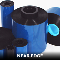 NEAR EDGE  DNP's near edge thermal transfer ribbons offer superior performance and create crisp, clean, sharp looking barcodes for a wide variety of substrates.  DNP's near edge ribbons and their anti-static properties, are specifically designed for in-line packaging applications and are compatible with most Markem, Videojet, Domino, Norwood, TEC, Novexx and Avery printers and coders.  Applications:  - Food & Beverage - Health & Beauty - Inventory & Logistics - Outdoor - Pharmaceutical - Retail