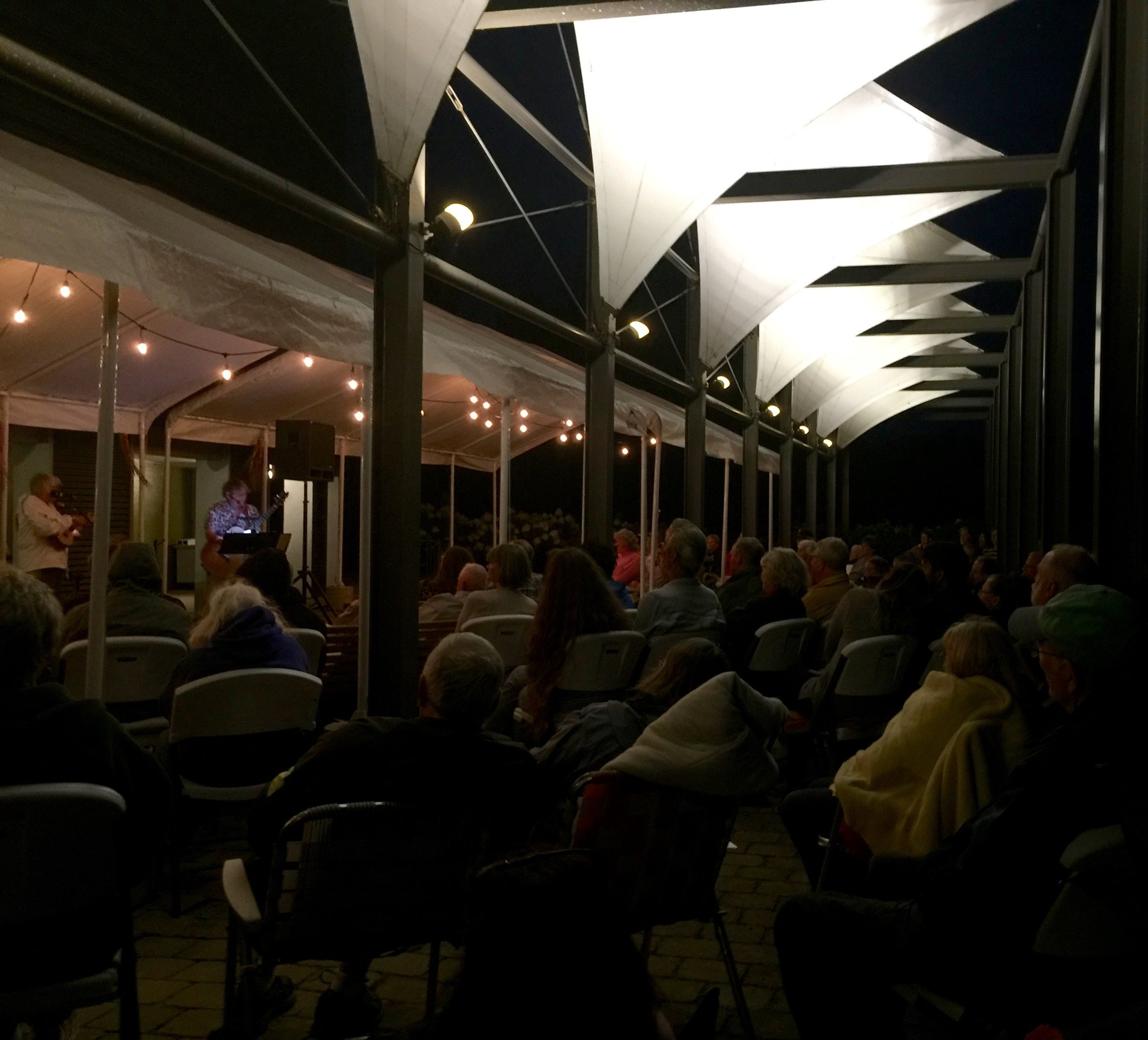 TPAC on the Green with Lynn Gudmundson and David Hatch