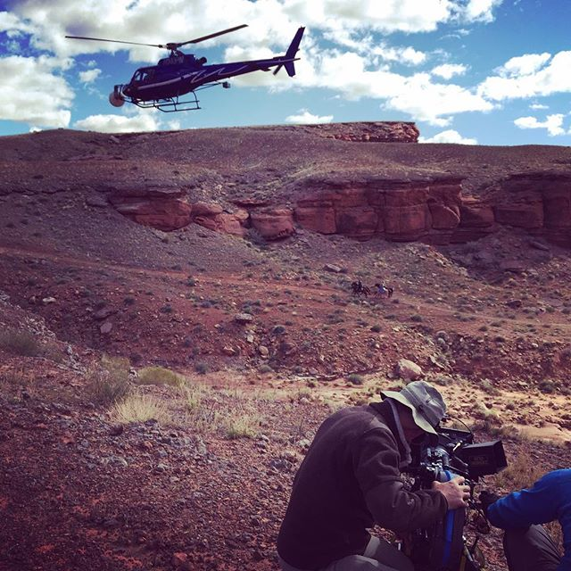 """These violent delights have violent ends"" new season of Westworld more to come. #westworld #hbo #westworldhbo #setlife #bts #aerials #aerialcoordinator #utah #film #aerialfilming"