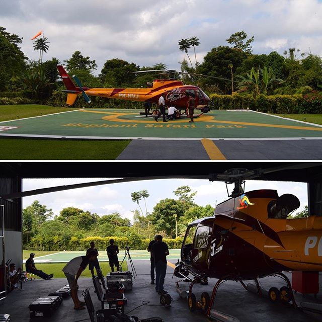 A couple #bts photos from a shoot in #bali big thank you to @super_78_studios @markgerasimenko and @aerialfilmworks for making it all come together! #shotover #aerialfilming #setlife #airbus