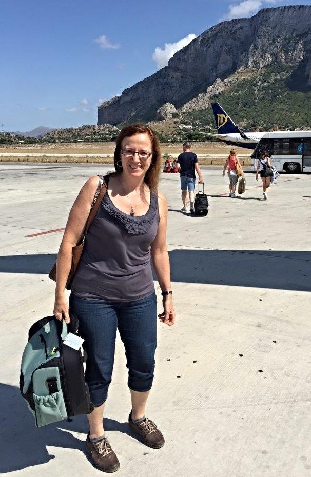 Landing in Sicily, summer 2015