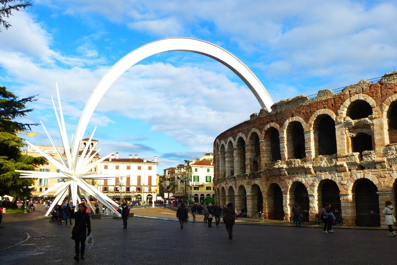 Verona's Roman Arena - Photo by C. Sturm