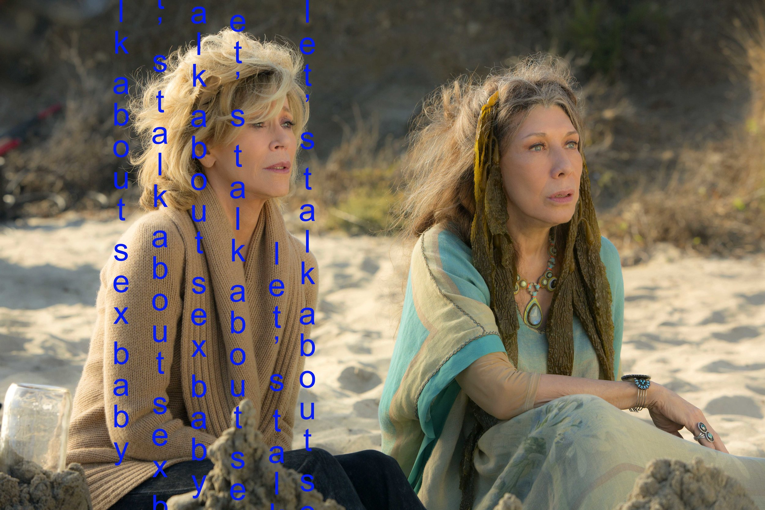 grace and frankie sexual revolution
