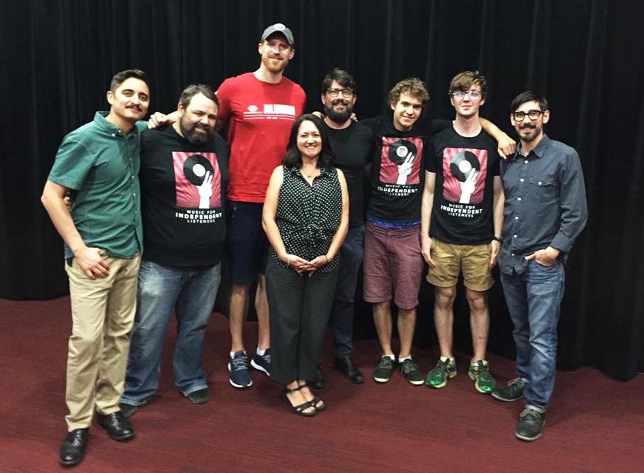 Matt Bonner and the KRTU team.