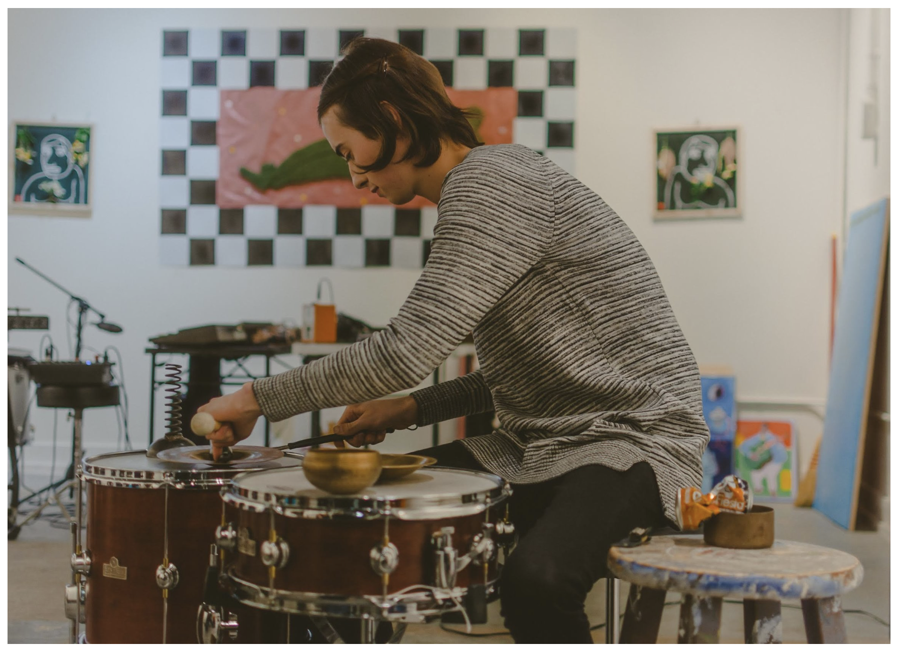 Claire's has been active in the San Antonio music scene for more than a decade. Recently, she's been focusing more on her improvisational work.  Photo by Devin Michael De Leon.