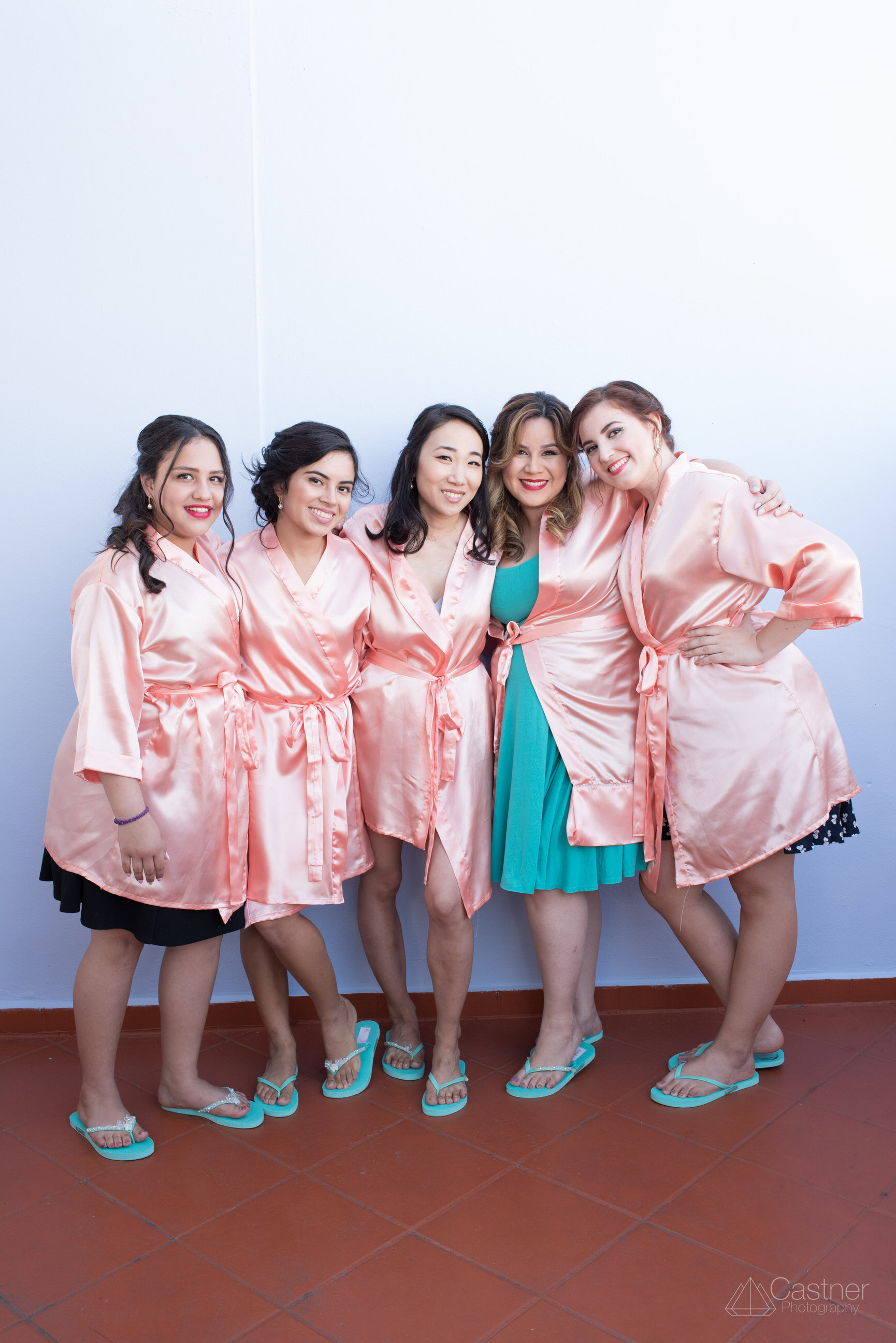 puerto rico destination wedding bridal party