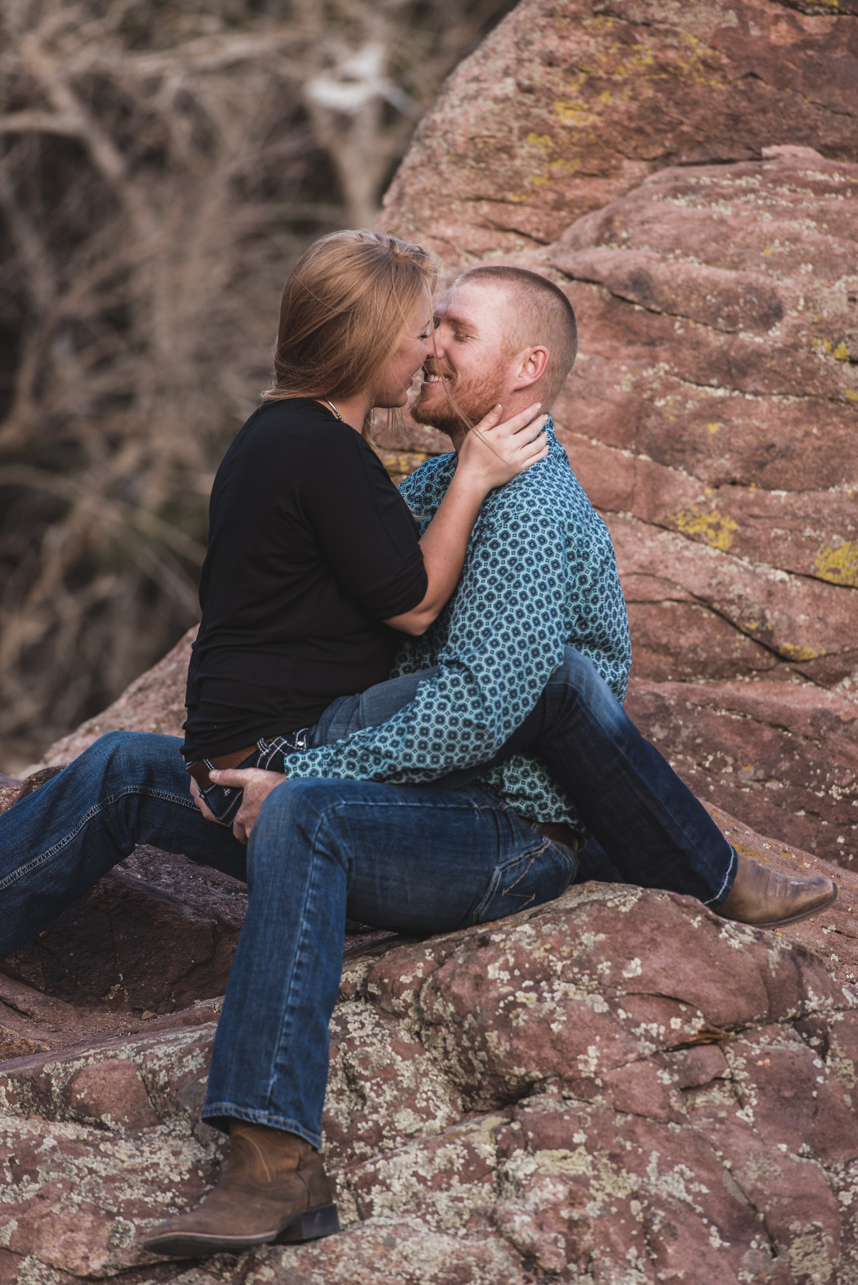 boulder engagement photography settlers park