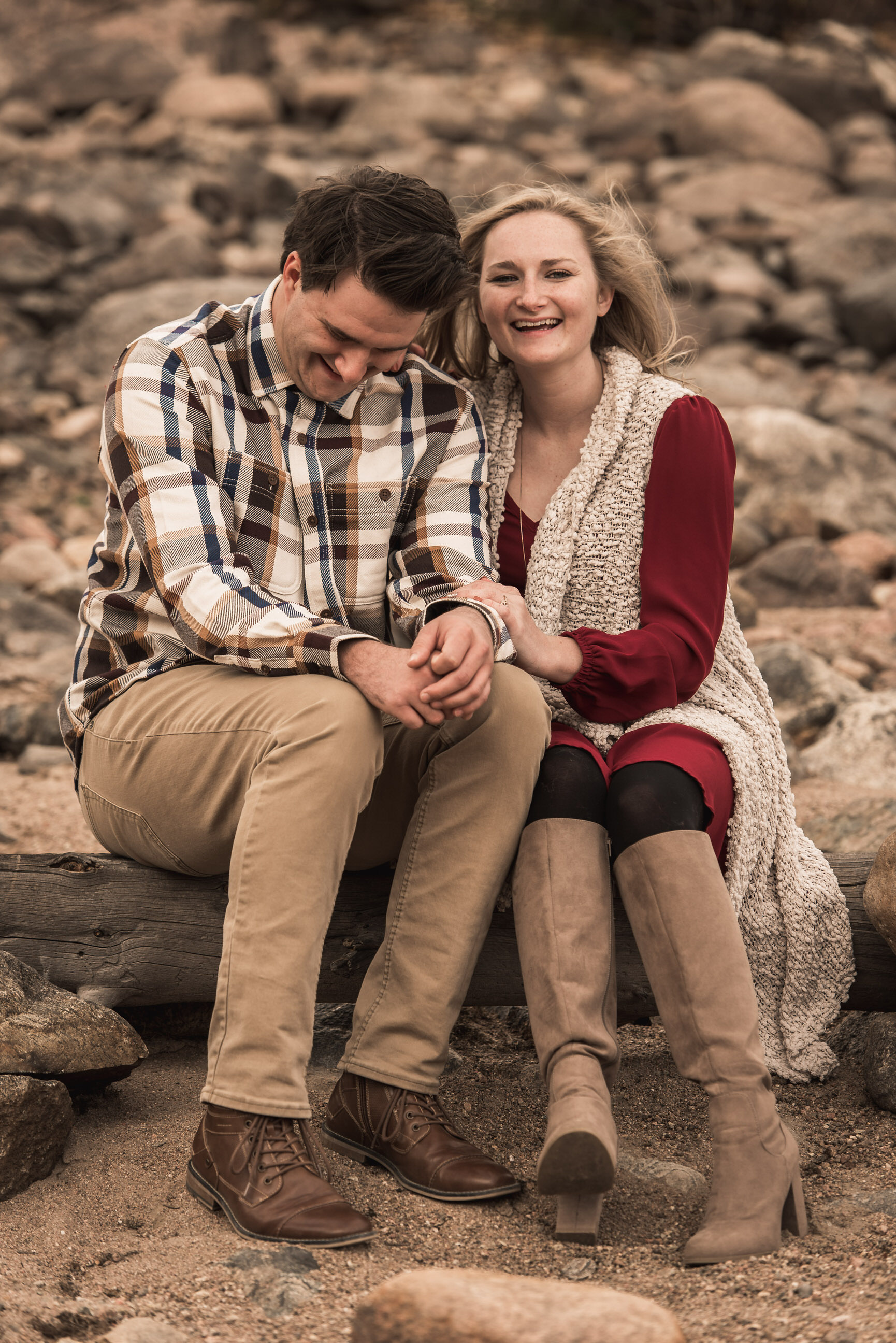 summit county engagement wedding photography boulder