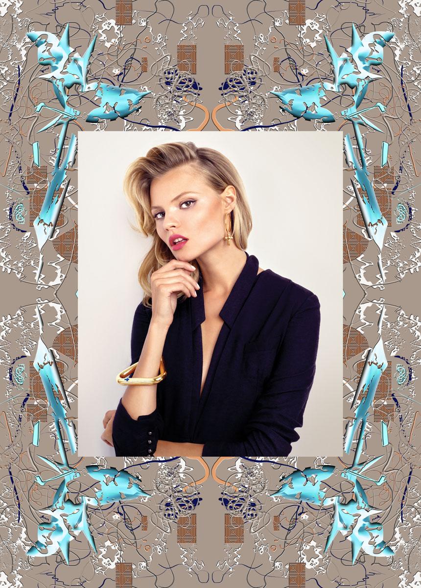 Photo from YES 2013 Calendar. Jewellery: Ania Kuczyńska for YES, model: Magdalena Frąckowiak. Photo: Magdalena Łuniewska