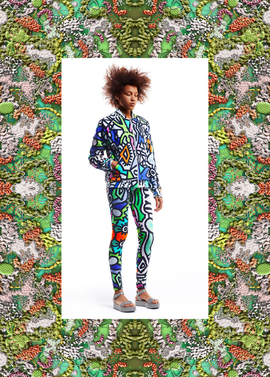 Dream Nation Tribe s/s 14. Prints designed by Robert Kuta. Photo: Zuza Krajewska, courtesy of Dream Nation