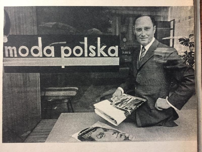 Stanisław Kudaj in  Ty i ja  magazine, issue 100, phot.  Krzysztof Gierałtowski