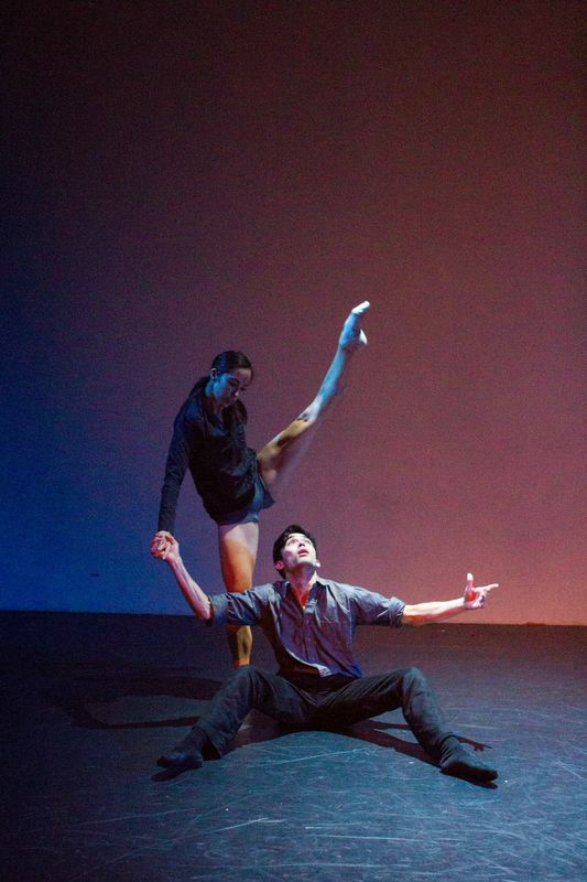 """""""A Narrow Spectrum""""TRANSLATE (voices of dance)  Collaboration with Dancer: Julian Devine"""