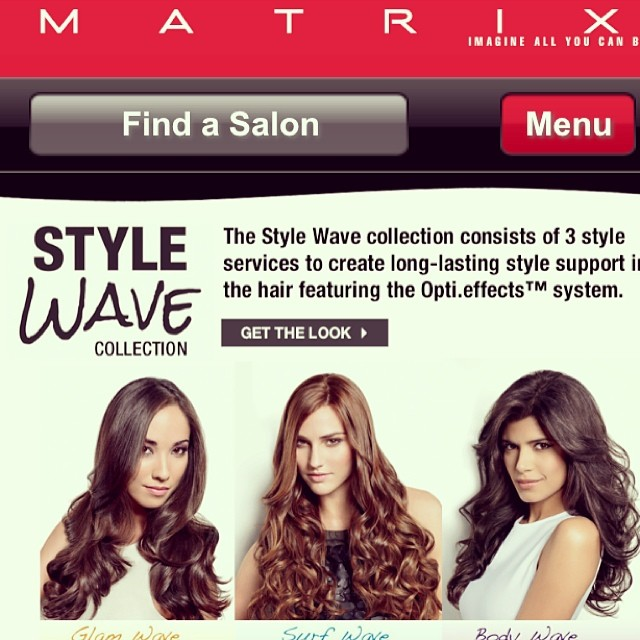 Style Wave Collection: Loreal Matrix
