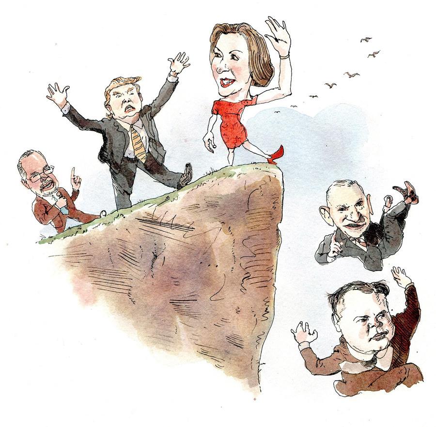 Illustration by Barry Blitt.