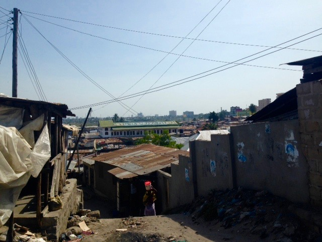 Informal Settlements in Jangwani