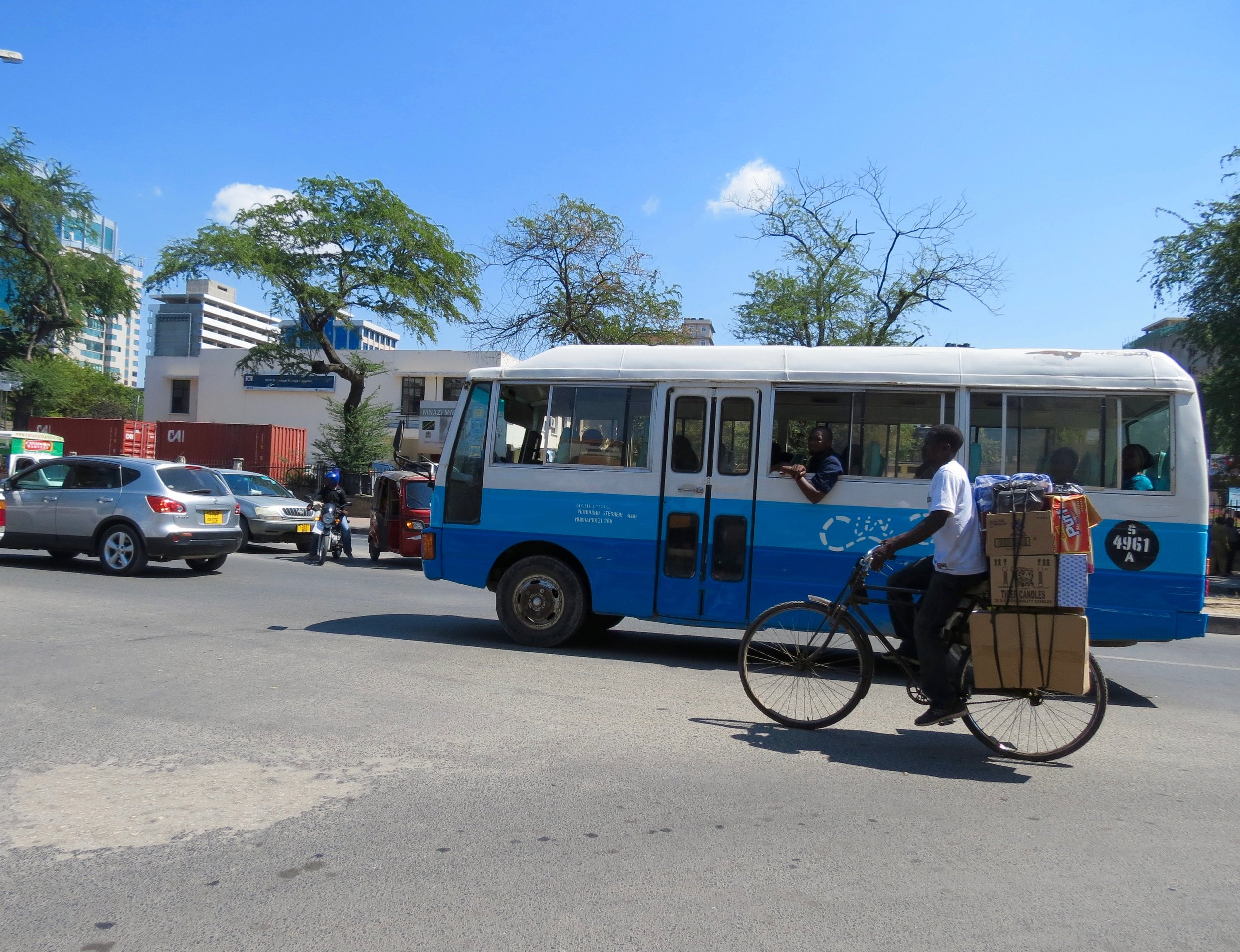 Getting Around Dar