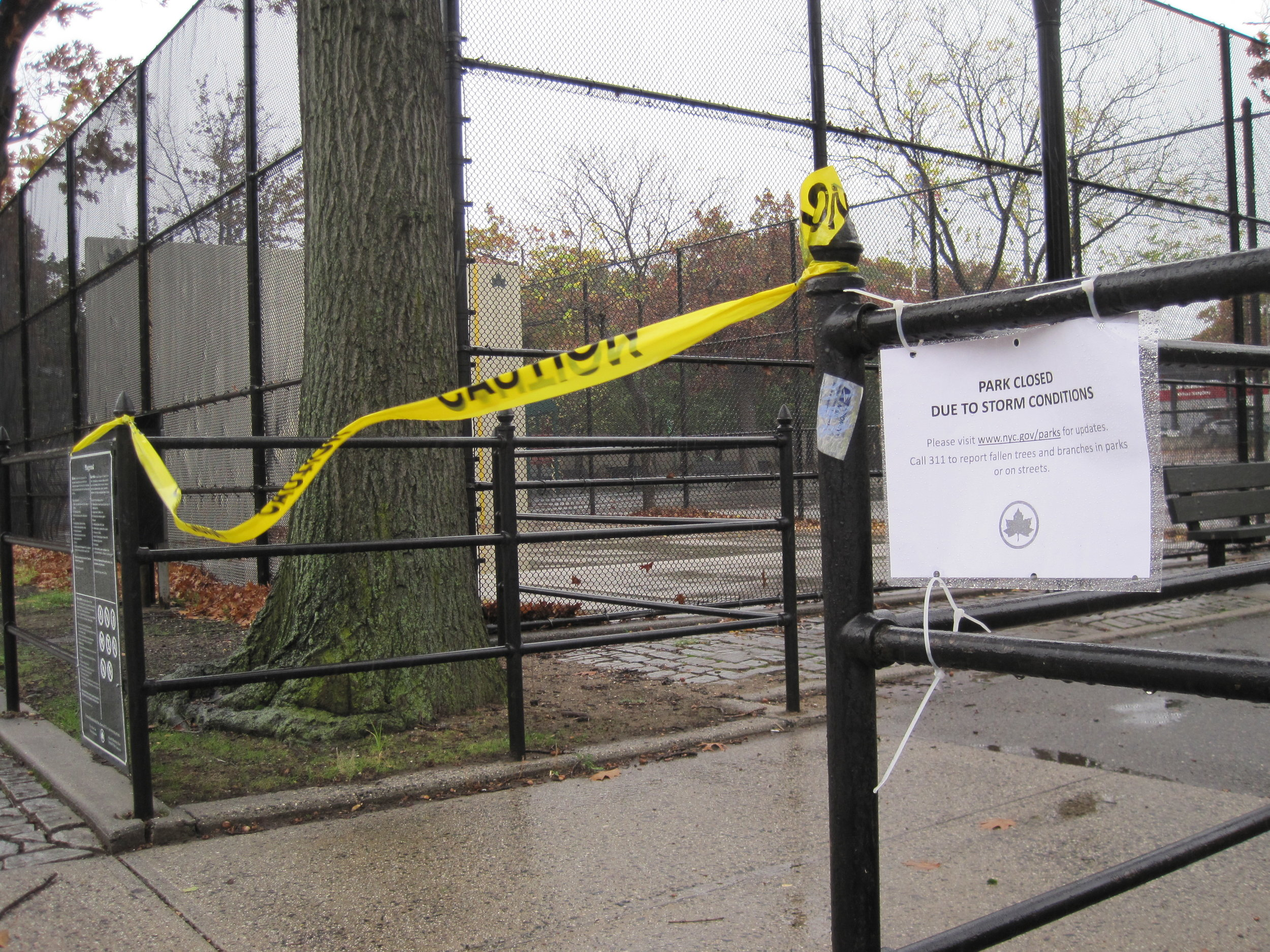 Damage in Astoria Queens, After Sandy