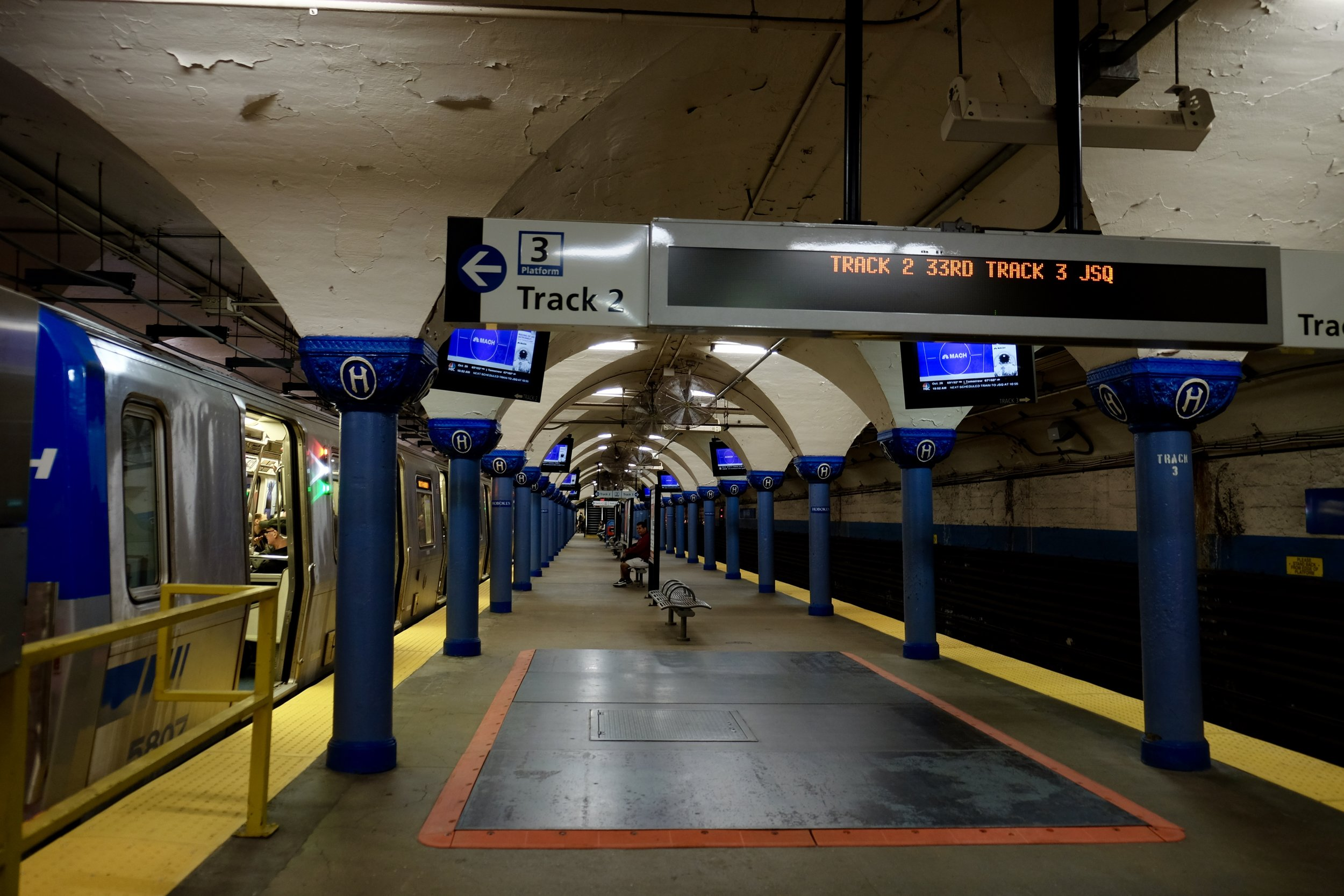 Hoboken - PATH Trains