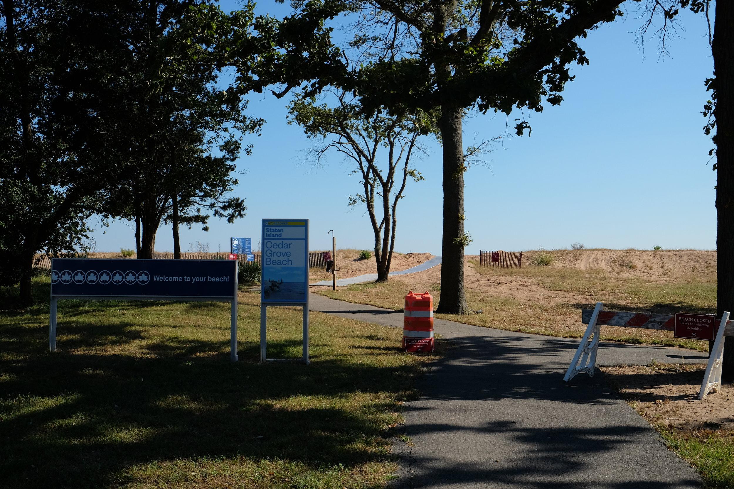 Staten Island   Cedar Grove Beach