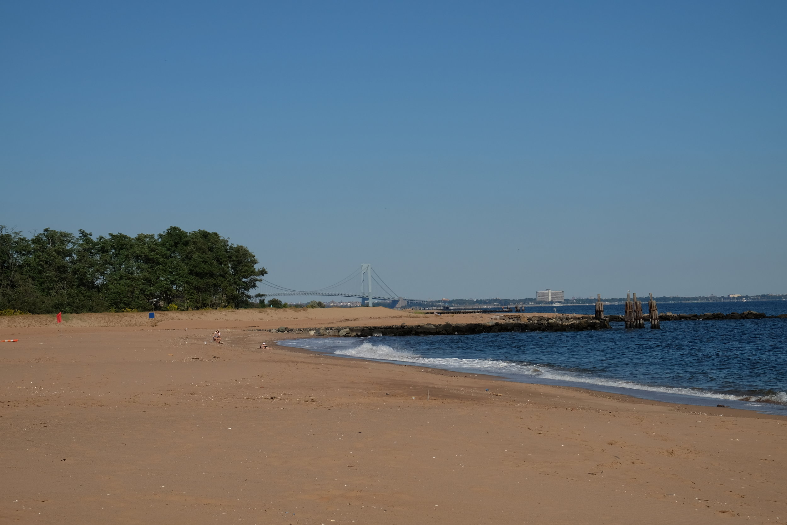 Cedar Grove Beach + Verrazano Bridge