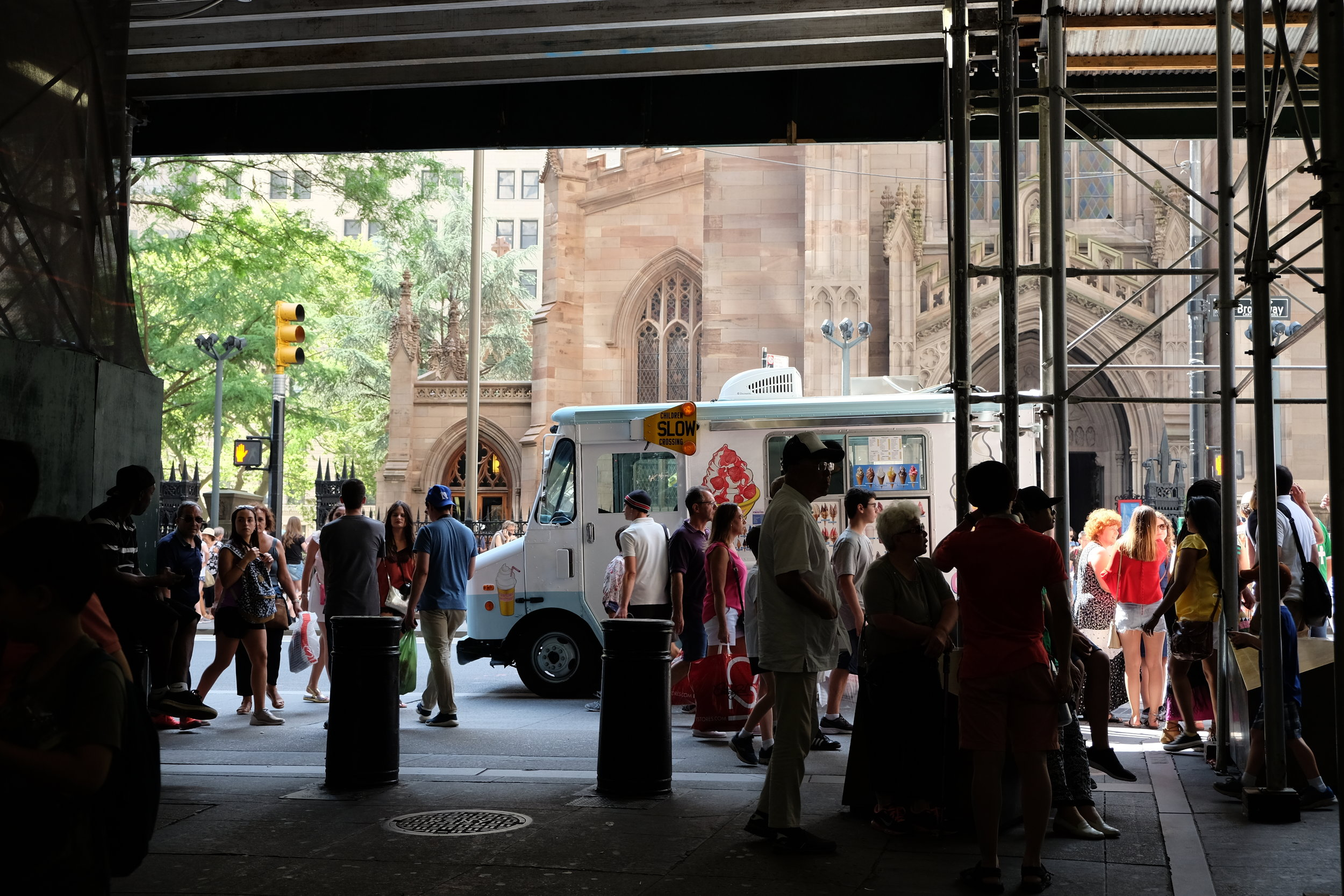 Trinity Church + Ice Cream Man