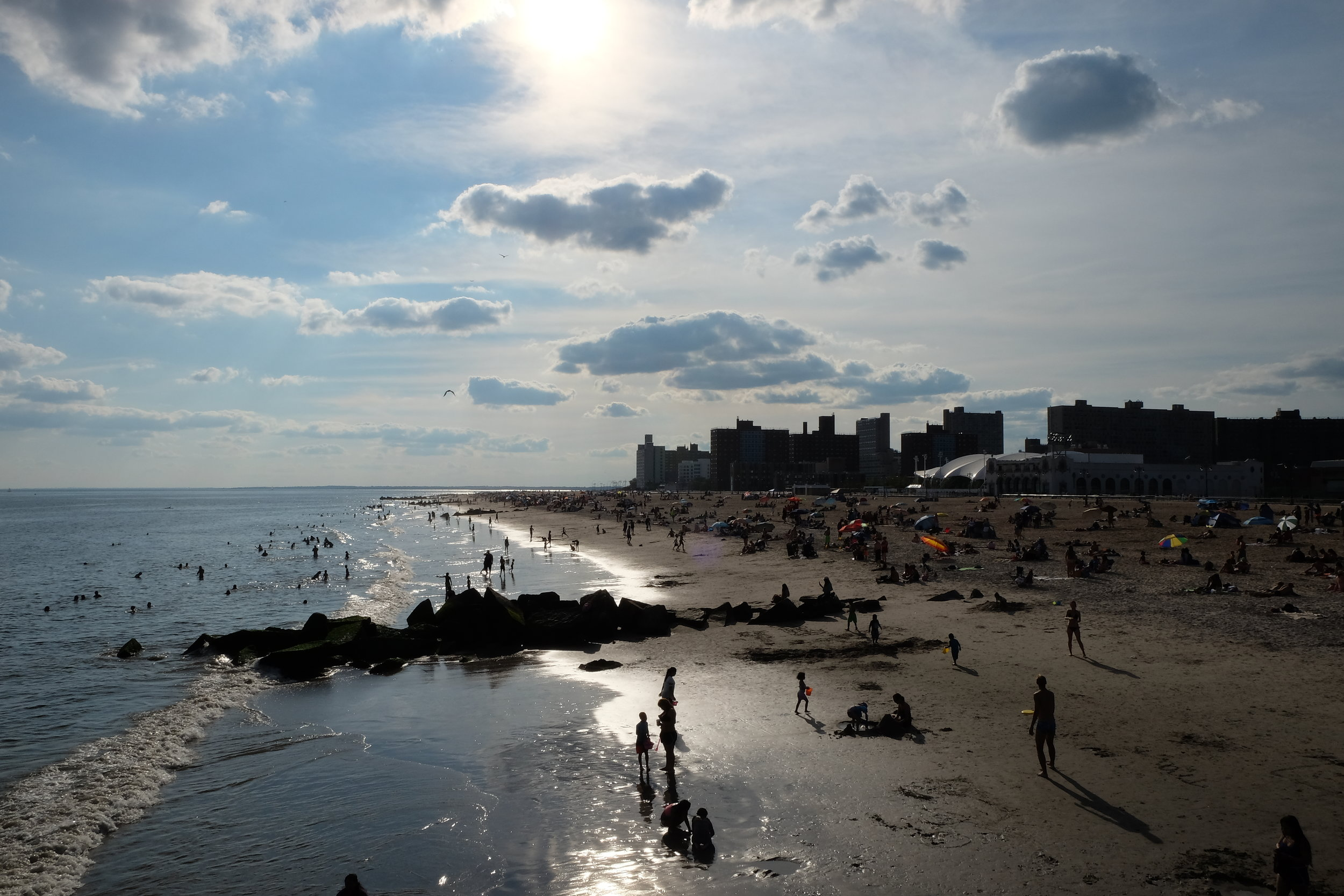 Coney Island - The View from the New Pier
