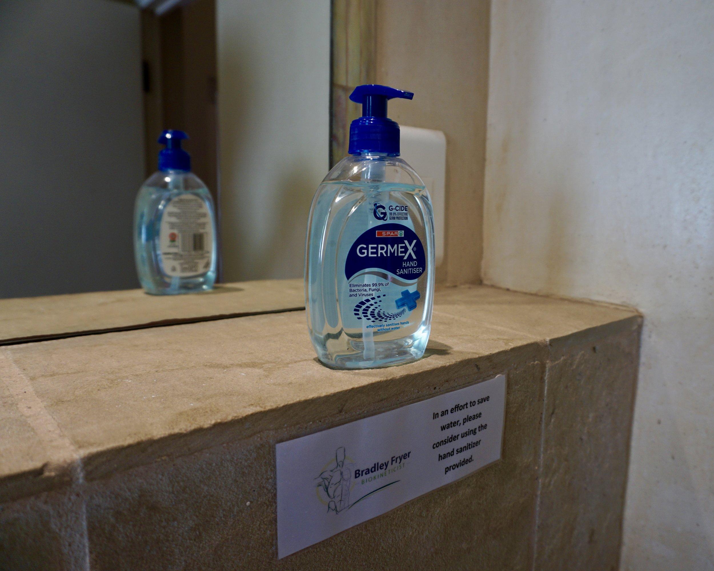 Stellenbosch: Bradley's Bathroom