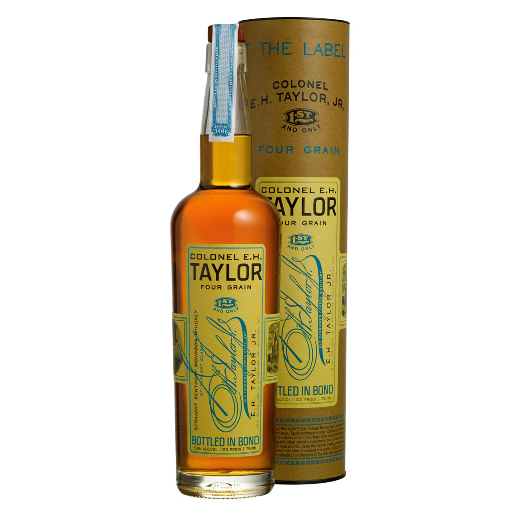 Colonel EH Taylor 4 Grain Bottled in Bond Aged 12 Years