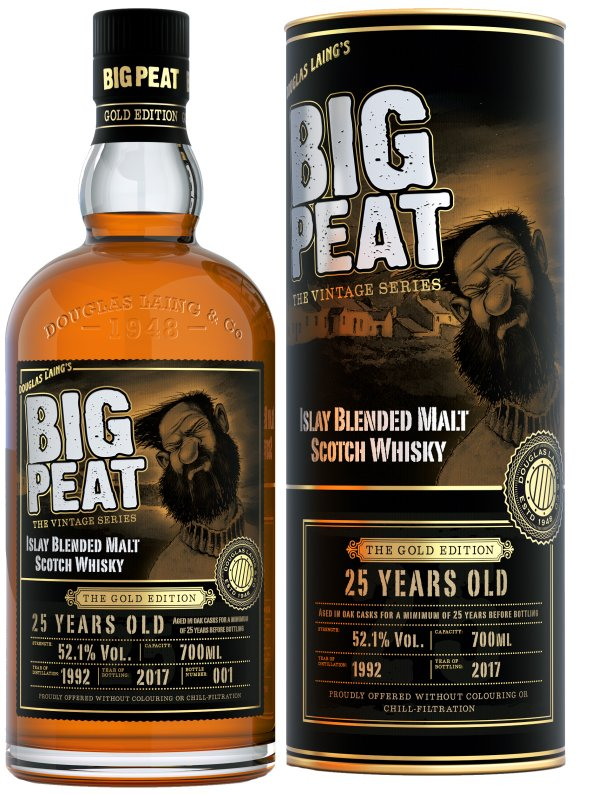 Big Peat - The Gold Edition - 25 yr old